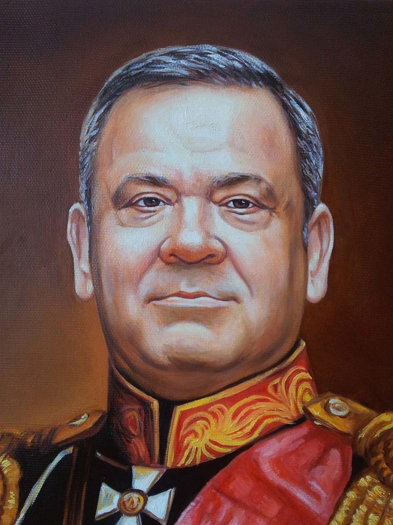 Портрет маслом на холсте в Магнитогорске