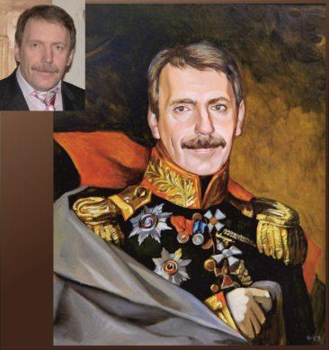 Настоящий портрет маслом на заказ в Магнитогорске…