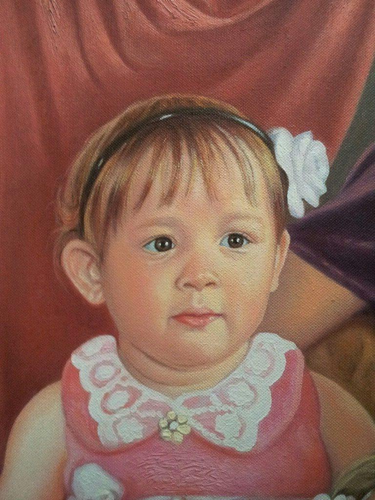 Портрет маслом семейный Магнитогорск