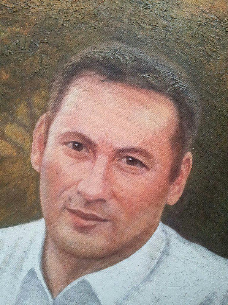 где заказать семейный портрет маслом в Магнитогорске