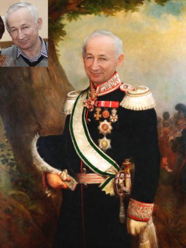 Где заказать исторический портрет по фото на холсте в Магнитогорске?
