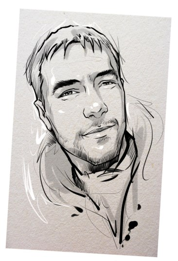 Портрет карандашом любимому мужу в Магнитогорске…
