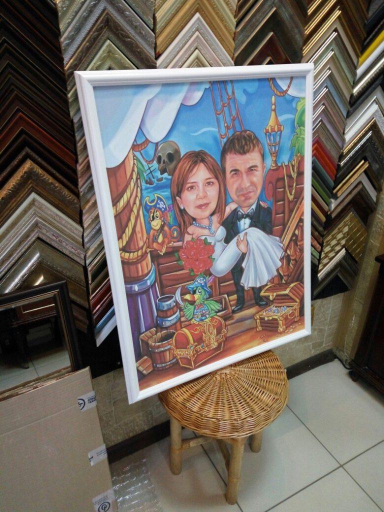 портрет шарж на заказ в Магнитогорске