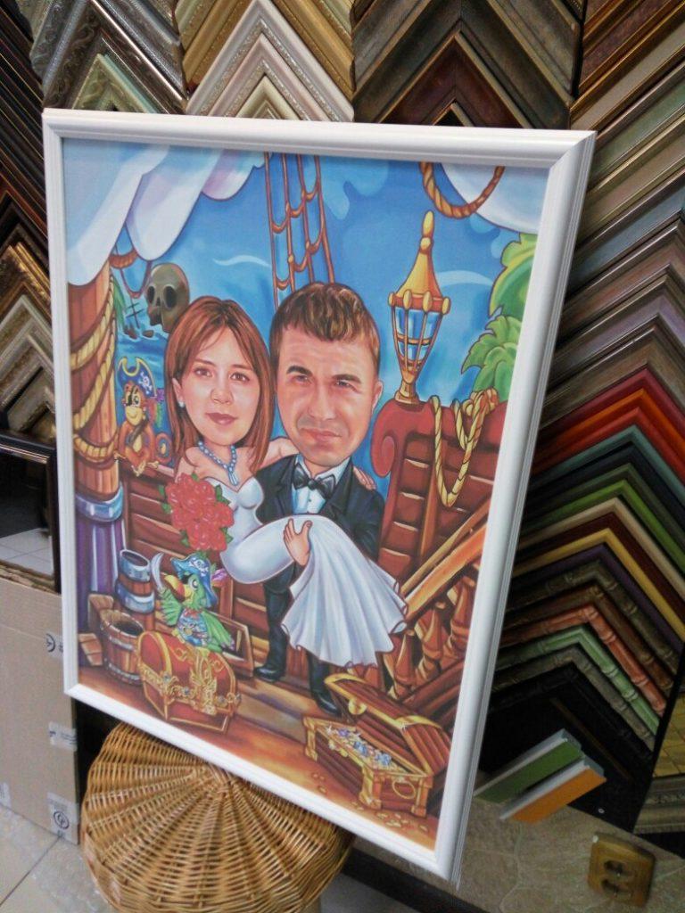 шарж по фото на заказ в Магнитогорске