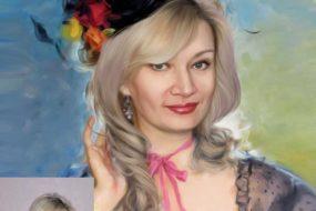 Заказать арт портрет по фото на холсте в Магнитогорске