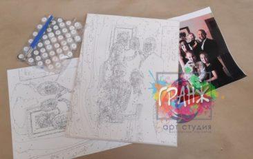 Картина по номерам по фото, портреты на холсте и дереве в Магнитогорске